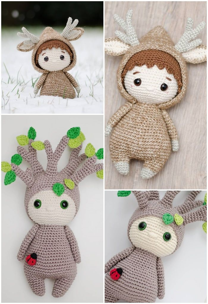Latest Free Crochet Toys Patterns in 2020 | Rag doll pattern | 1024x700