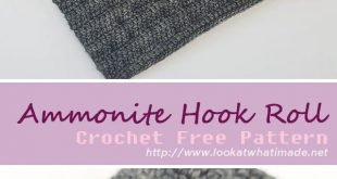 Ammonite Hook Roll Crochet Free Pattern