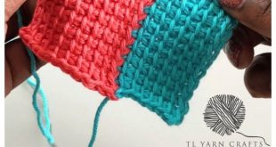 How to Join As You Go in Tunisian Crochet