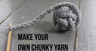How to Make Your Own Chunky Yarn