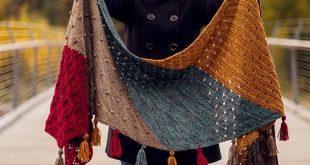 Moraine Shawl pattern by AbbyeKnits #amigurumi #crochet #knitting #amigurumi pa...