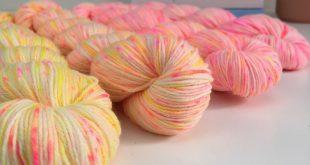Sunshine Speckle fade kit - We Love Knitting - Hand Dyed Yarn