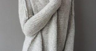 Oversized Chunky Alpaca Wool woman knit sweater. Thumb holes sweater. Turtleneck sweater