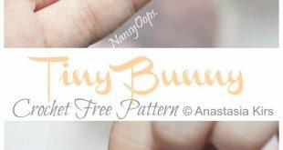 Amigurumi Tiny Bunny Crochet Free Pattern