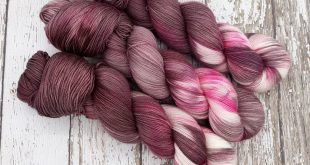 Cherry Blossoms, Hand dyed yarn, fingering weight yarn, varigated yarn, multiple bases, sock yarn
