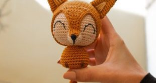 Cotton Tail the Chibi Fox - Crochet Pattern Amigurumi Pattern