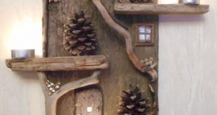 11 wunderschöne Bastelideen, die du mit Treibholz basteln kannst! – Bastelideen für