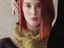 """Arc and Line Cowl Kit - priced from $44.00 to $58.99. """"This lovely cowl combines..."""