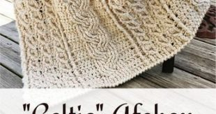 Celtic Afghan [Free Crochet Pattern