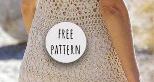 Crochet Summer Dress Free Pattern
