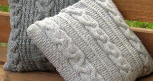 Dekokissen Dekorative Kissenbezüge Handgestrickte von Initasworks auf DaWanda....