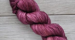 Fade Kit - Hand Dyed Yarn - Superwash Merino - Hand Painted - Tonal Speckled - Purple Pink Yellow