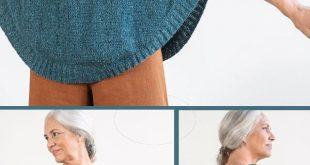 Free Knitting Pattern für Rosaline Pullover