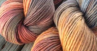 Hand Dyed Yarn, Merino Wool, Hand Painted Yarn, Knitting Yarn, Worsted Weight