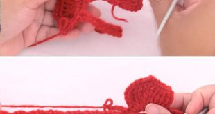 How To Crochet A Rose 3D Flower Easily