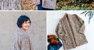 Modern, Beginner Crochet Long Sleeve Cardigan - Free pattern + Video