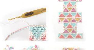 Neceser de Crochet Tapestry CUBE – Tutorial y Patrón