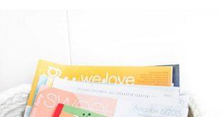 Zeitschriftenkorb aus Zpagetti Garn häkeln